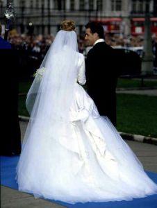 Viscount Linley and The Hon. Serena Stanhope, October 8, 1993 | The Royal Hats Blog