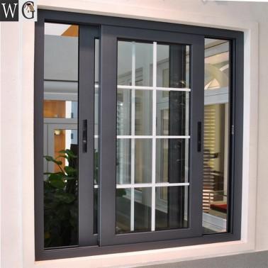 Theftproof Simple Iron Windows Grills House Aluminum Sliding Window Window Grill Design Modern Modern Windows Modern Window Design