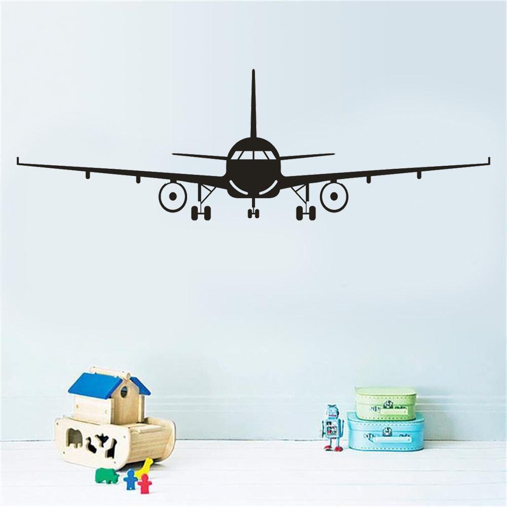 Aircraft Wall Sticker Kids Room Decals Wall Decor Decals Wall Stickers [ 1000 x 1000 Pixel ]