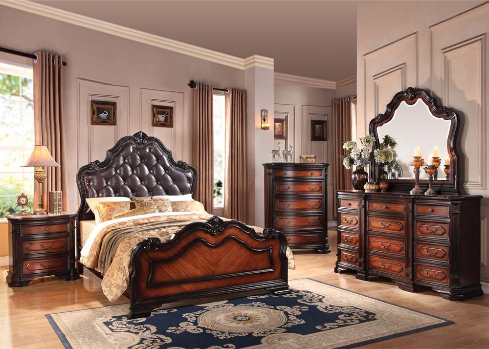 This High Quality Bedroom Set Is Great For A Master Bedroom And