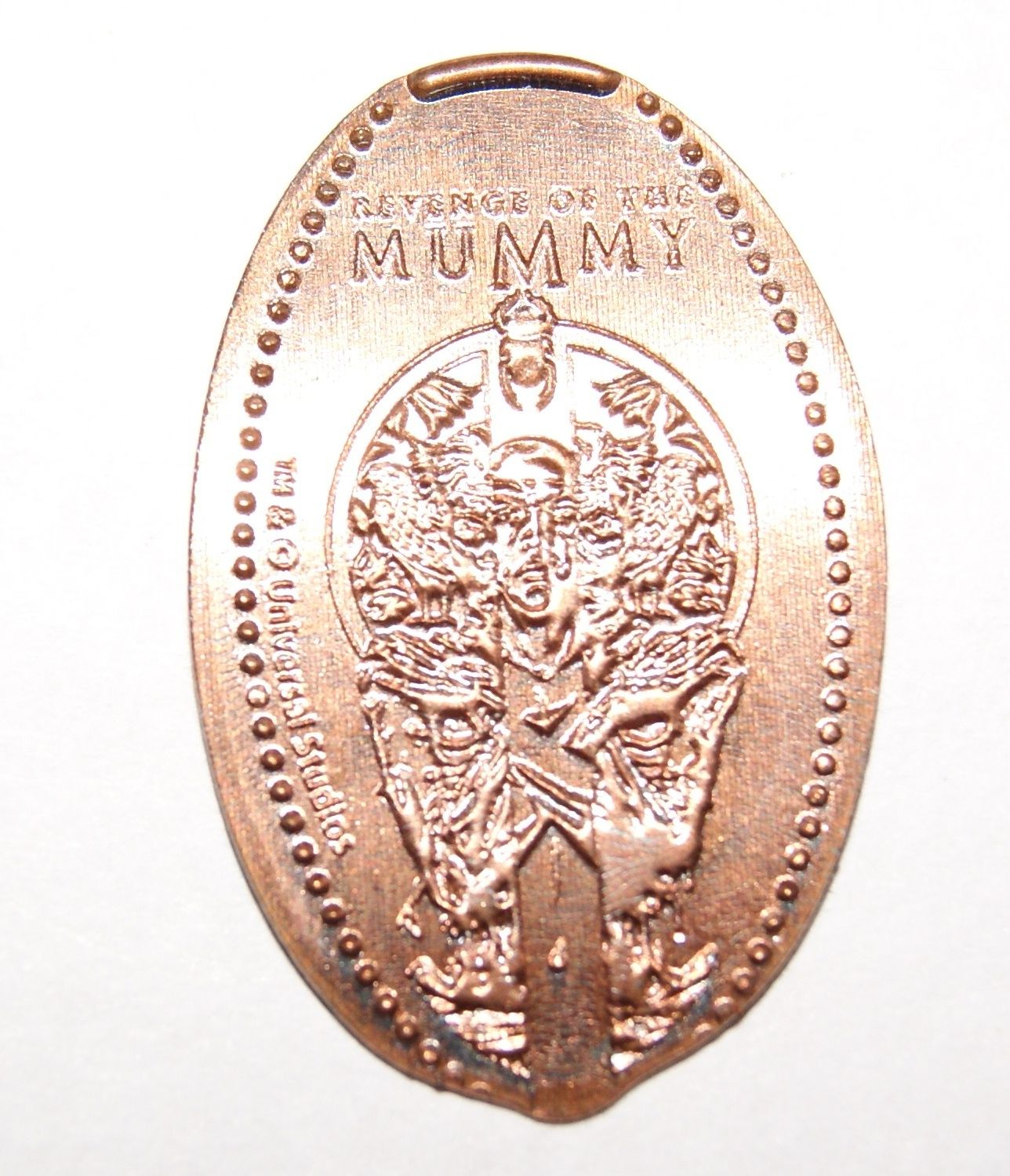 Pin by AM Gift Shop on Elongated coins | Universal studios, Coins
