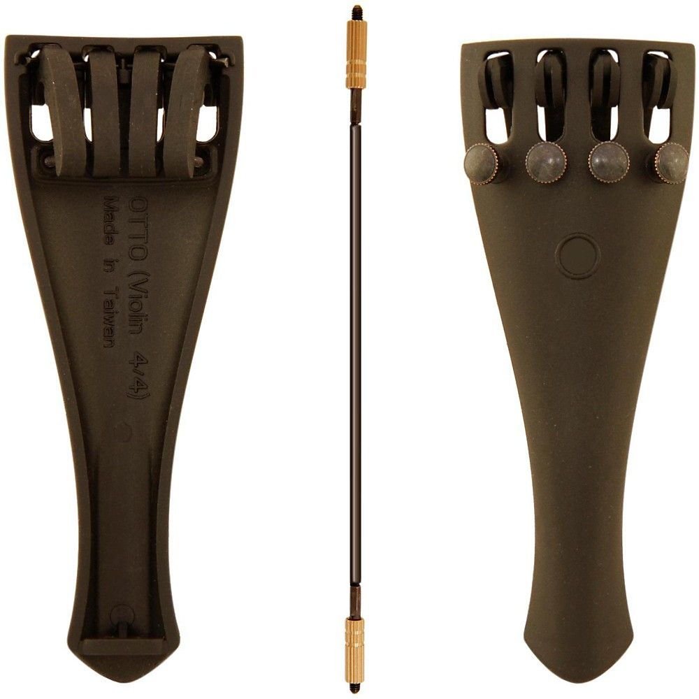 FarBoat 15Pcs Violin Accessories Kit Ebony Chin Rest