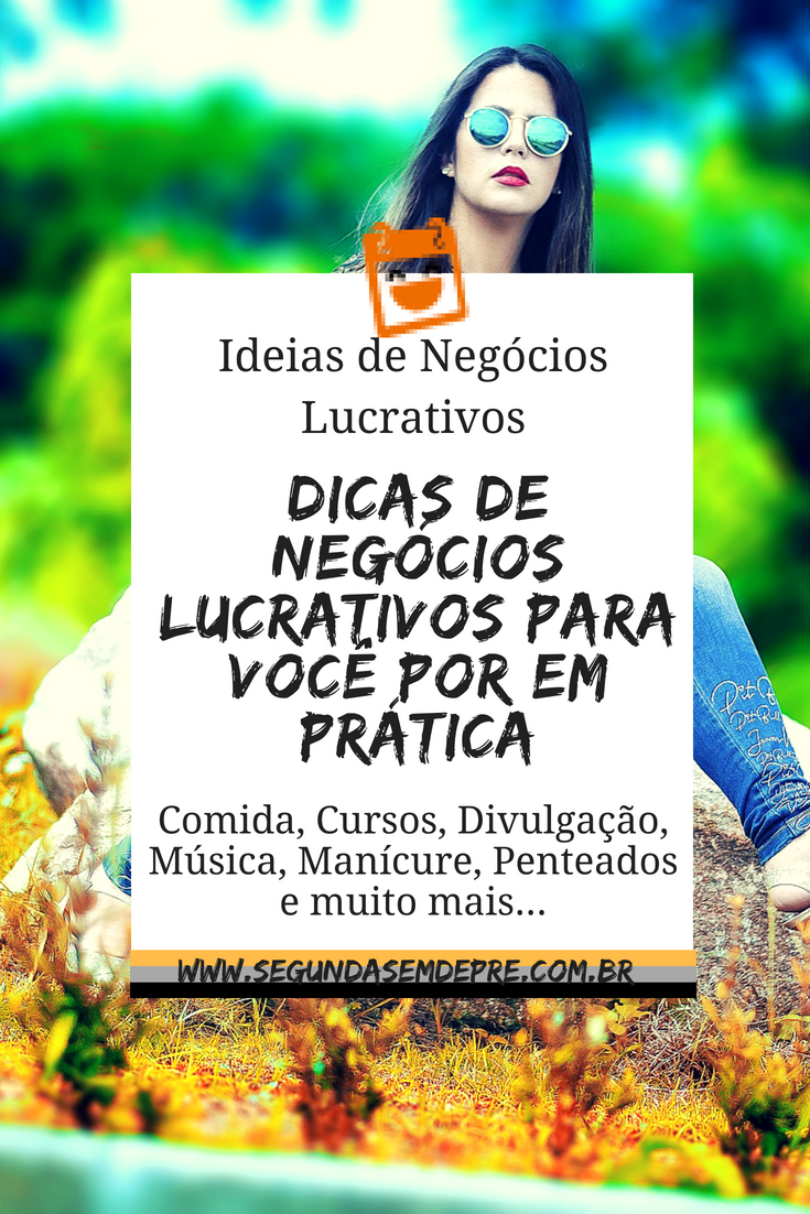 Renda Extra ou Principal: 12 Ideias de Negócio - S...