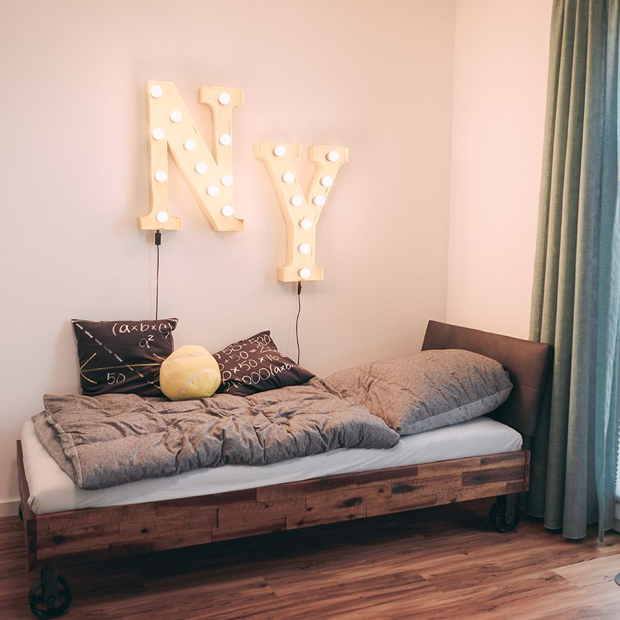 Ein modernes #Kinderzimmer / #Jugendzimmer im New-York-Style aus ...