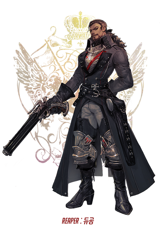 Overwatch Characters As Fantasy Heroes Overwatch Fan Art Overwatch Skin Concepts Fantasy Heroes