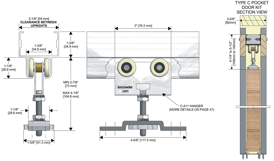 Free CAD DetailsBeam Pocket Detail Iso CAD Design   DOORS ...