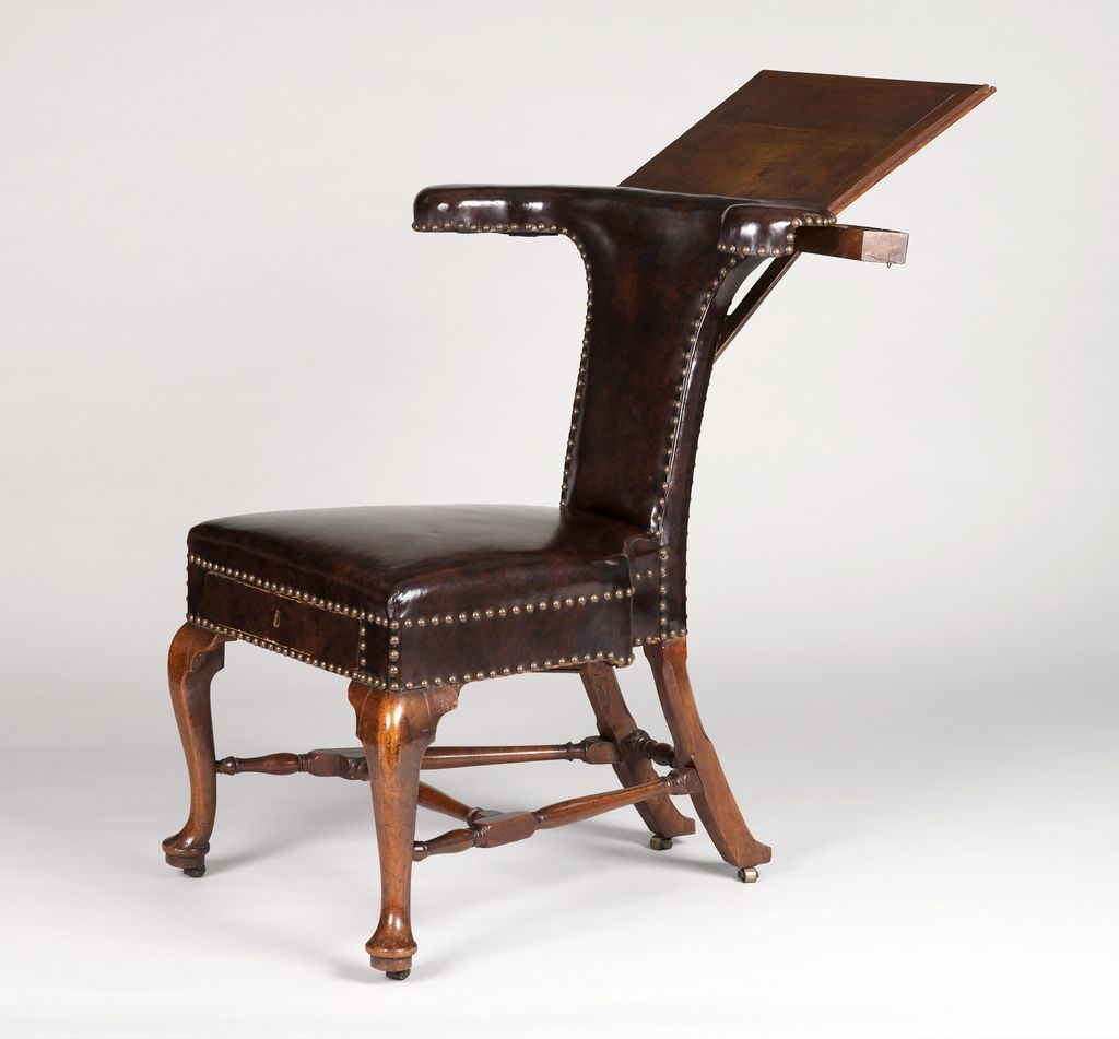 """Armchair, """"""""Cockfight chair"""""""", ca. 1720–30 