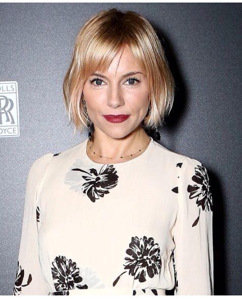 Sienna Miller bob | short hair don't care | Pinterest | Hair, Hair ...