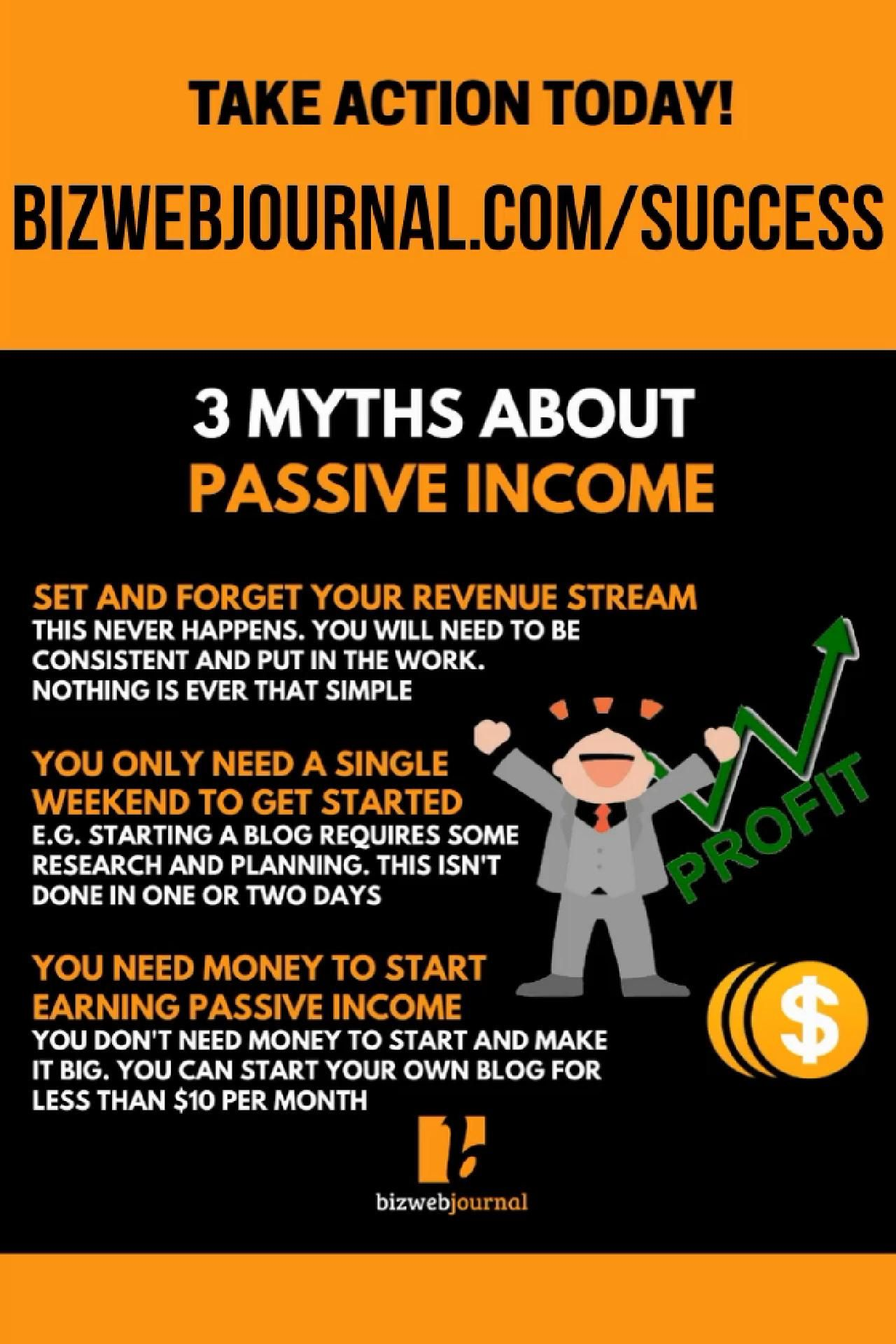 3 Myths About Passive Income