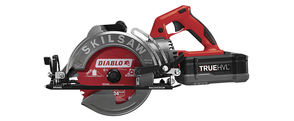 Skilsaw Releases First Ever Cordless Worm Drive Saw Skil Saw Saw Tool Worm Drive