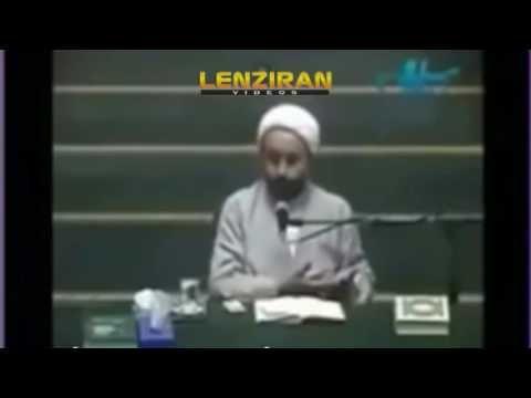 Criticizing speech of Hojatoleslam Naser Naghavian Lenziran - speech format