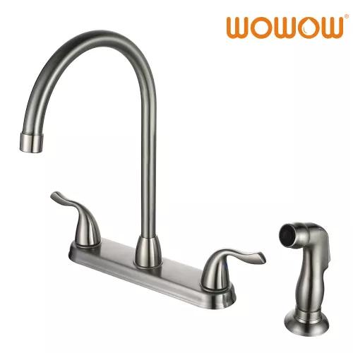Separate Handle Kitchen Water Faucet Side Sprayer Kitchen