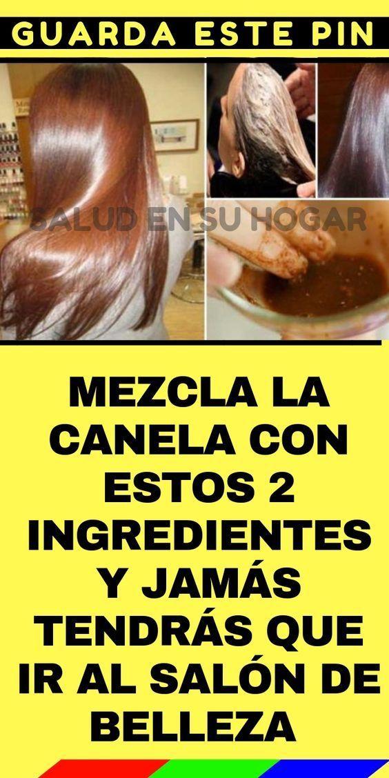 Coca Cola Para El Cabello Para Que Sirve Mezcla La Canela Con Estos 2 Ingredientes Y Jamas Tendras Que Ir