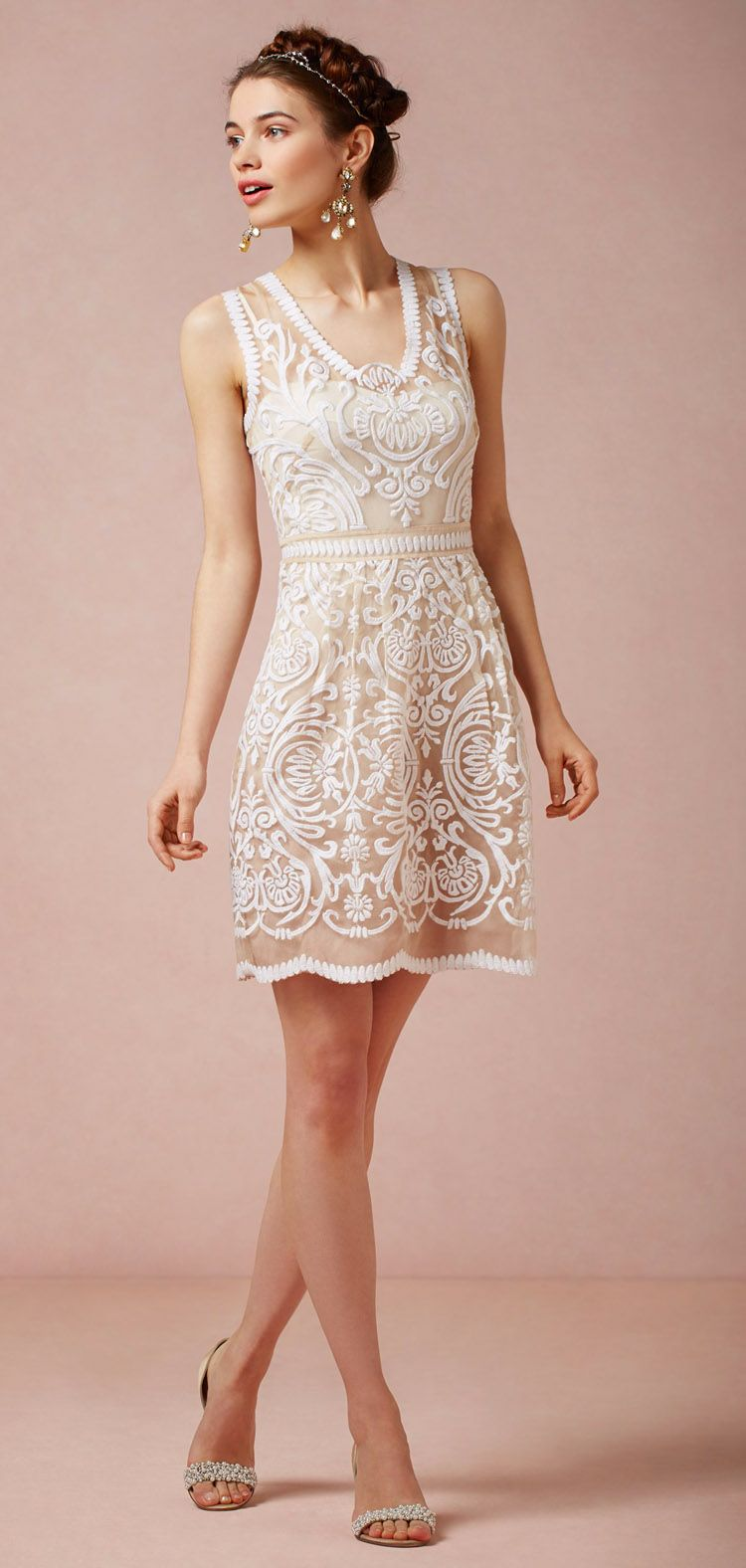 BHLDN JOLA DRESS -- somewhat my style I reallly like the swirls ...