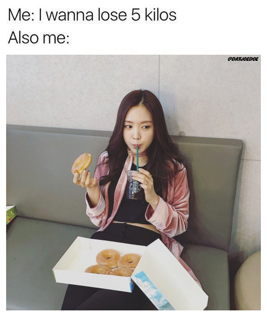 Accuracy Bc Doughnuts Are Life But Kpop Idols Got Their Daily Workout Routines And I Got A Daily Step Goal That I Just Meet Kpop