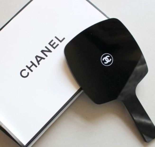Large Chanel Compact Mirror