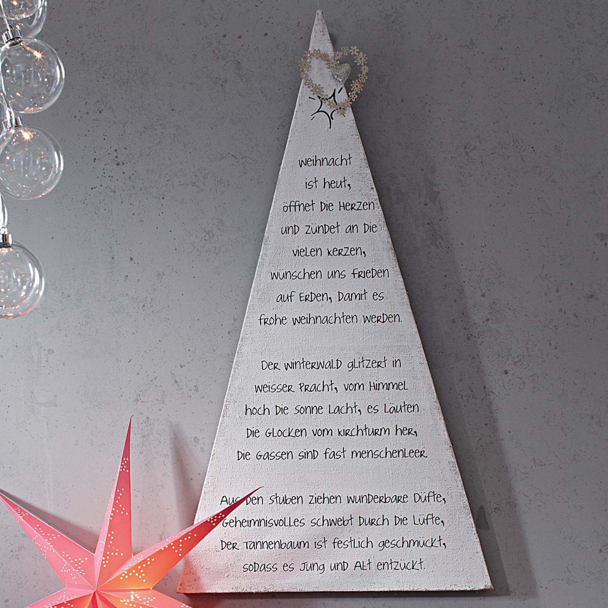 bild bedruckt mit einem weihnachtsgedicht von doris. Black Bedroom Furniture Sets. Home Design Ideas