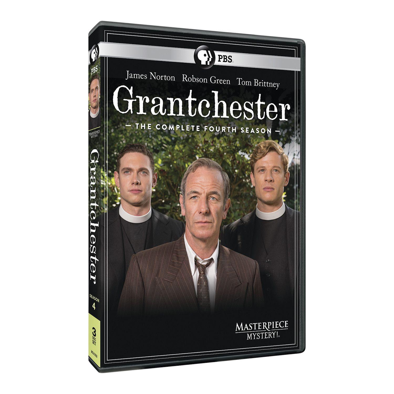 Grantchester Season 4 Dvd & Blu-ray - DVD