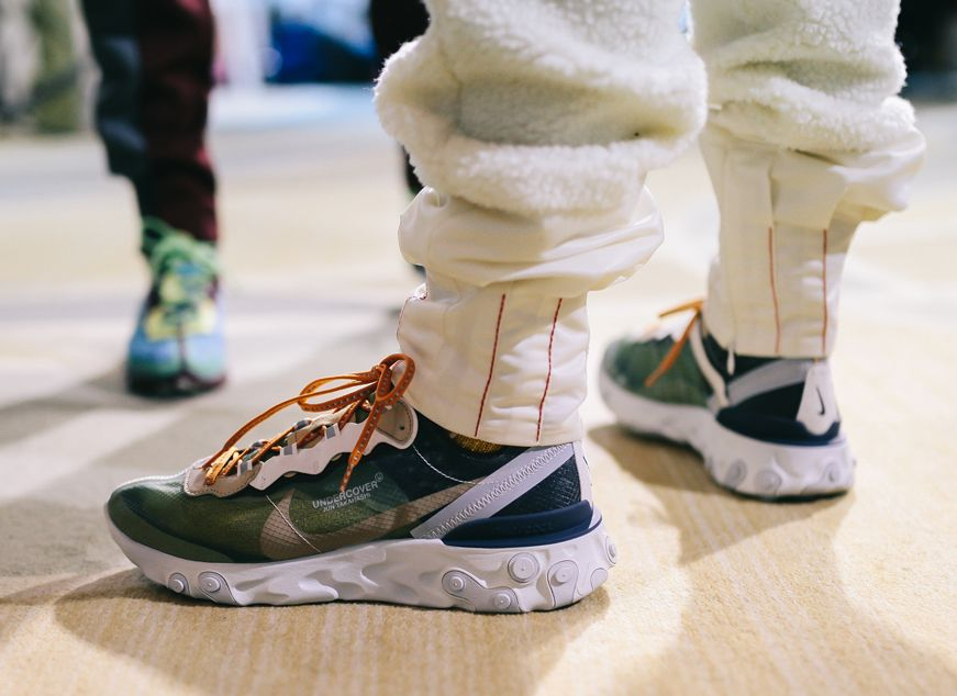 brand new a9ee7 de573 Undercover X Nike React Element 87 collaboration   Sneakers.fr  Nike   Undercover  Sneakers