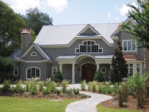 Certainteed Weatherboards Fiber Cement Siding In Pewter