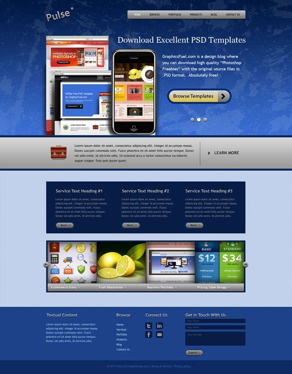 Famoso Plantillas De Sitios Web En Línea Gratis Colección ...