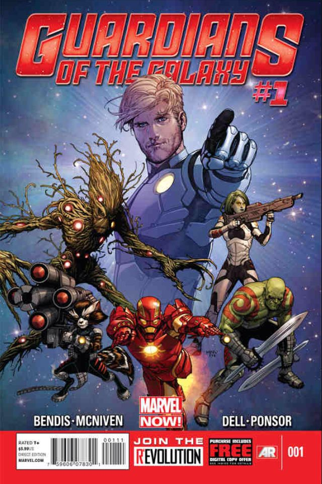 Iron man joins the Guardians Of The Galaxy