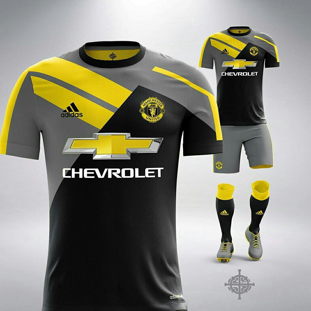 Manchester United third kit concept Soccer Skills 867c6ee2f3038