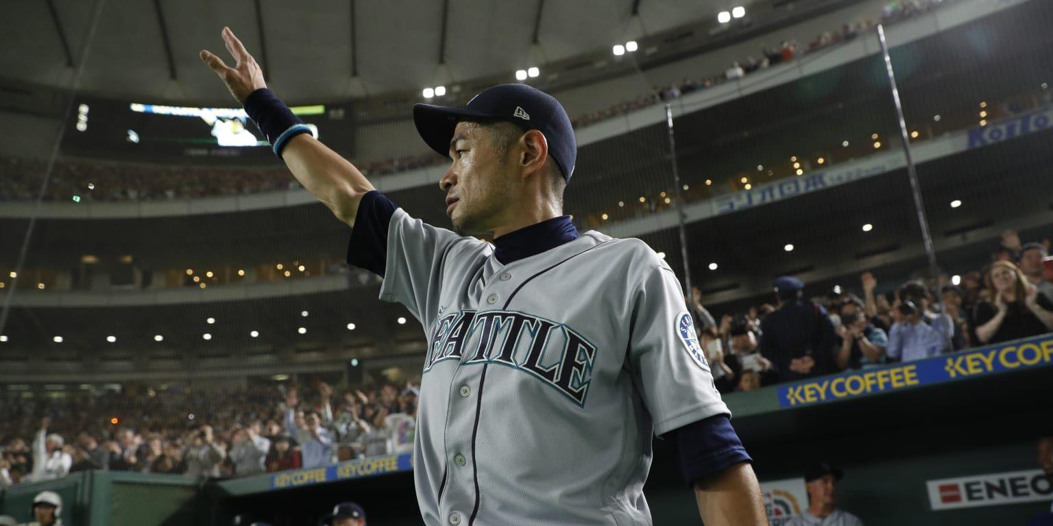 Tokyo For A Man Who Never Wanted To Quit Playing Baseball There Can Be No Perfect Ending But Ichiro Suzuki Mi Ichiro Suzuki Yomiuri Giants Ken Griffey Jr