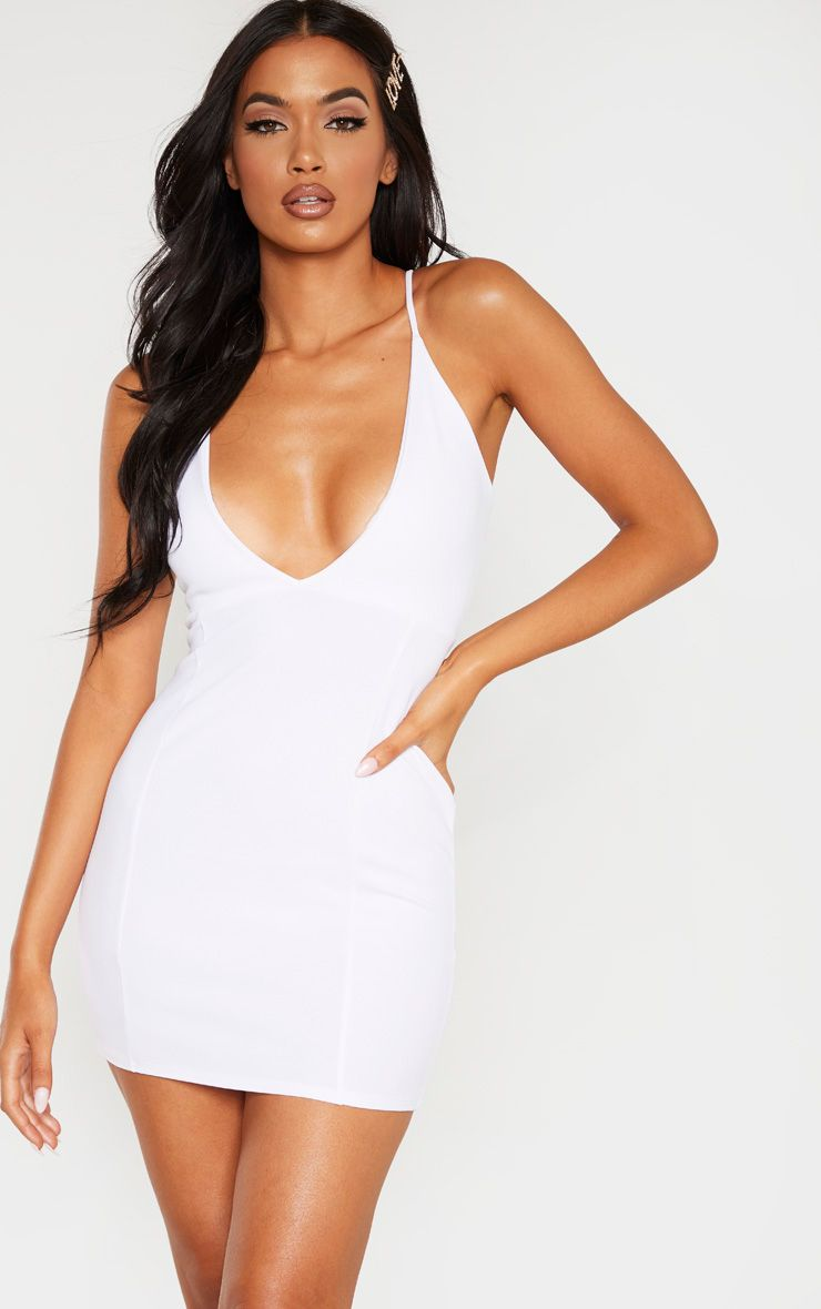 Satin Backless Strappy Short Dress Free From Label Bodycon Dress Parties Club Dresses Short Short Strappy Dress [ 1024 x 822 Pixel ]