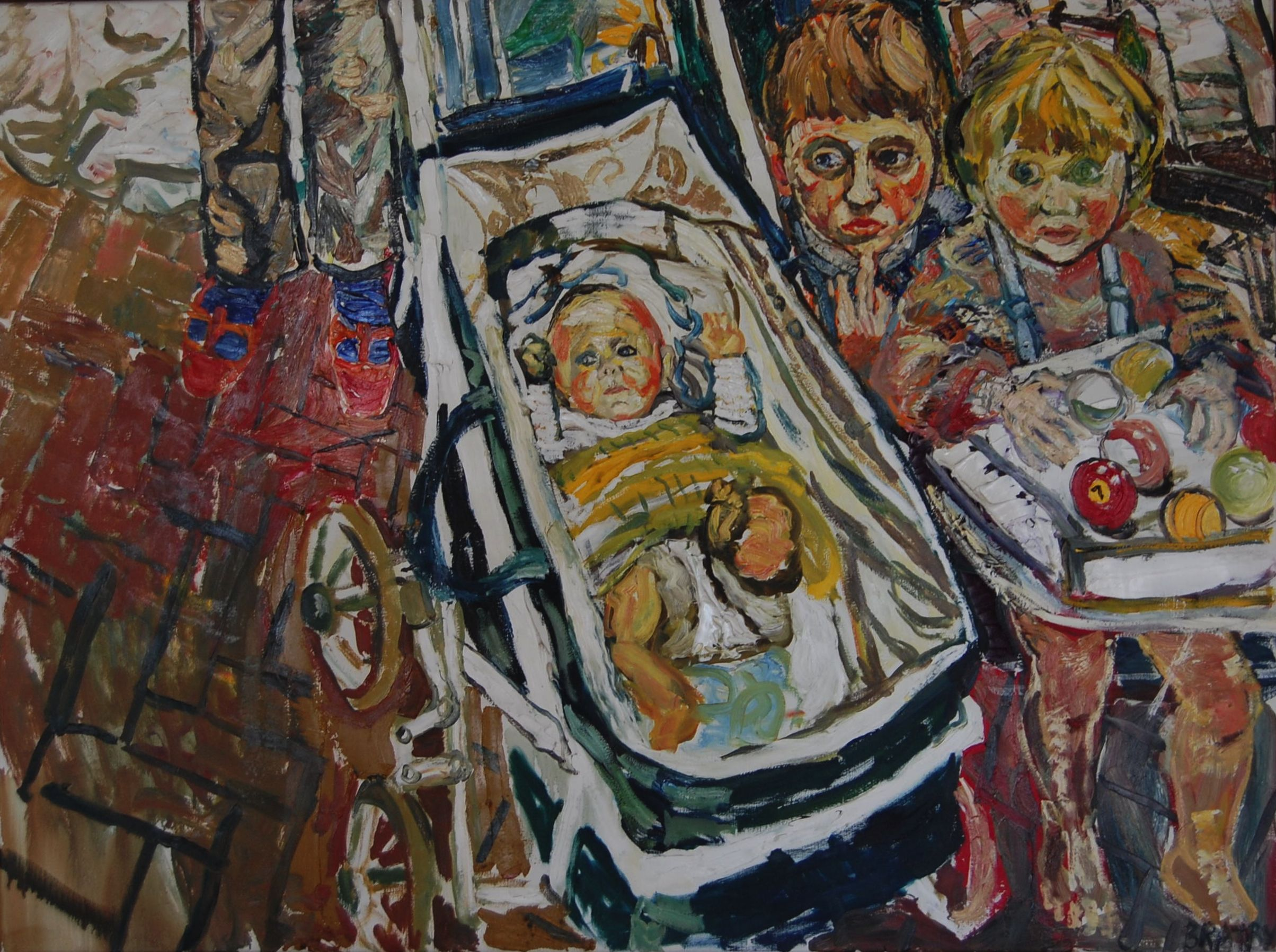 John Bratby Kitchen Sink Art