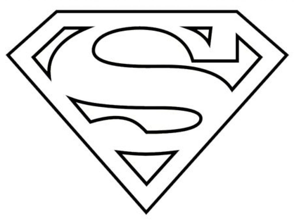 Best Superman Logo Coloring Pages in 5  Superhero coloring