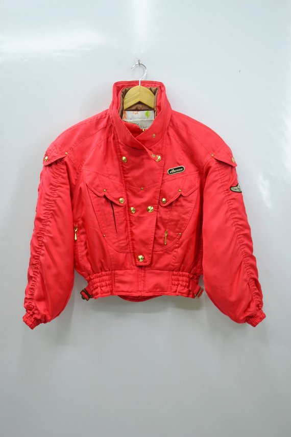 90's Red Goldwin By Jacket Winter Mystery Vintage Ellesse qwa6EzBE