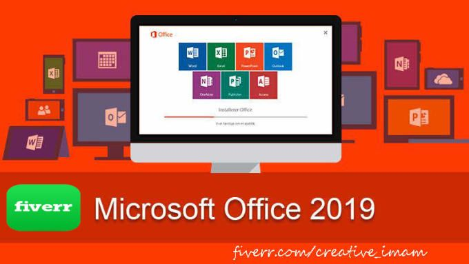 provide setup ms office 2019 with activation | Excel Macro