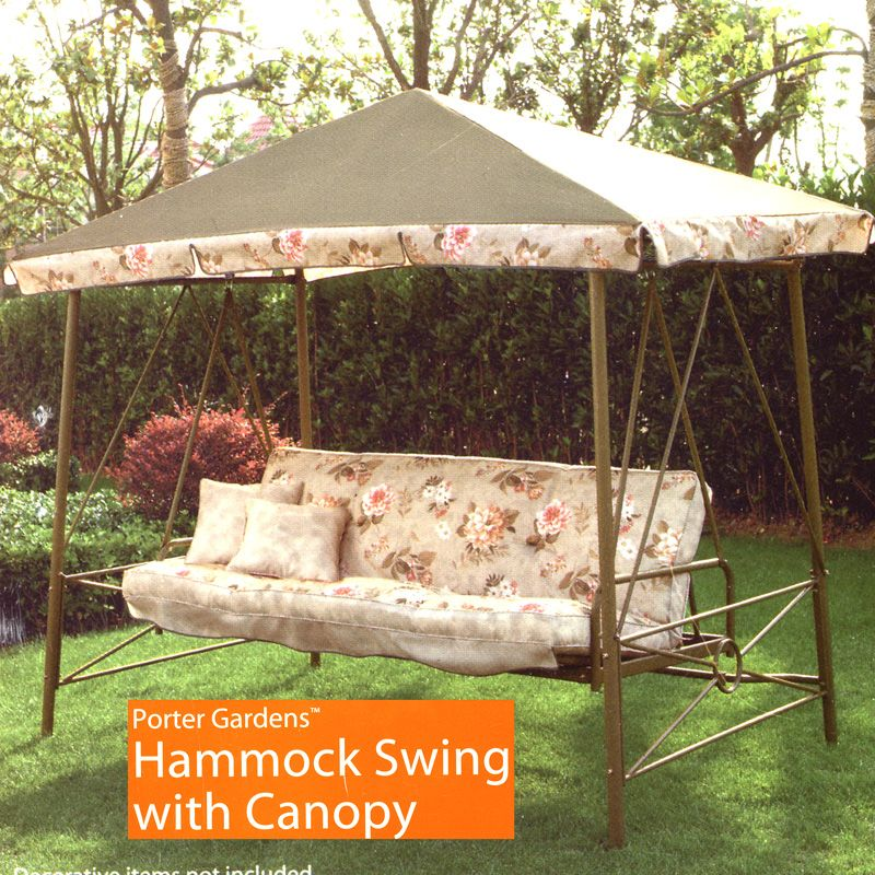 Walmart Courtyard Creations Rus472w Swing Replacement Canopy