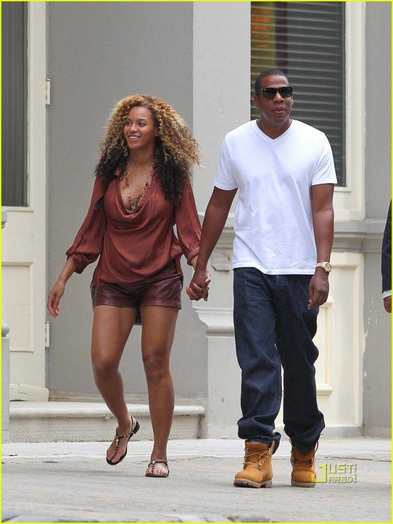 Jay-Z wearing TIMBERLAND