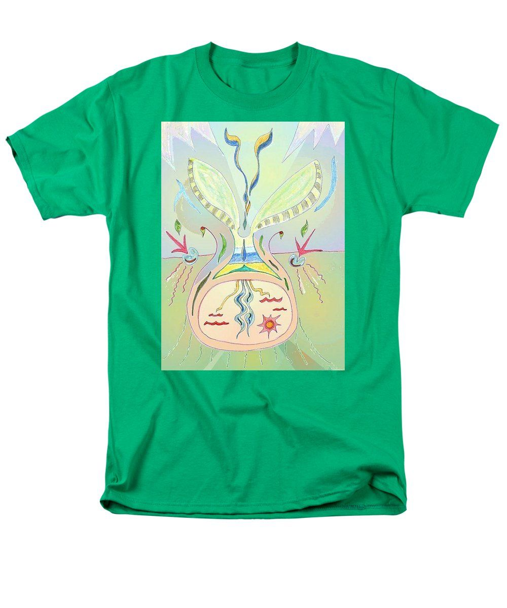 Seed T-Shirt featuring the drawing Thought Seed by Julia Woodman