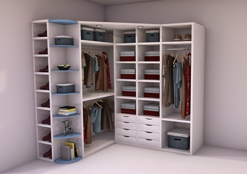 Resultado de imagen para armarios en esquina recamara armario esquina armario ropero y - Armarios empotrados en esquina ...