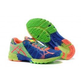 Købe Asics Gel-Noosa TRI™ 9 Blå Grøn Orange Dame Skobutik | Billige Asics Gel-Noosa TRI™ 9 Skobutik | Asics Skobutik Salg | denmarksko.com