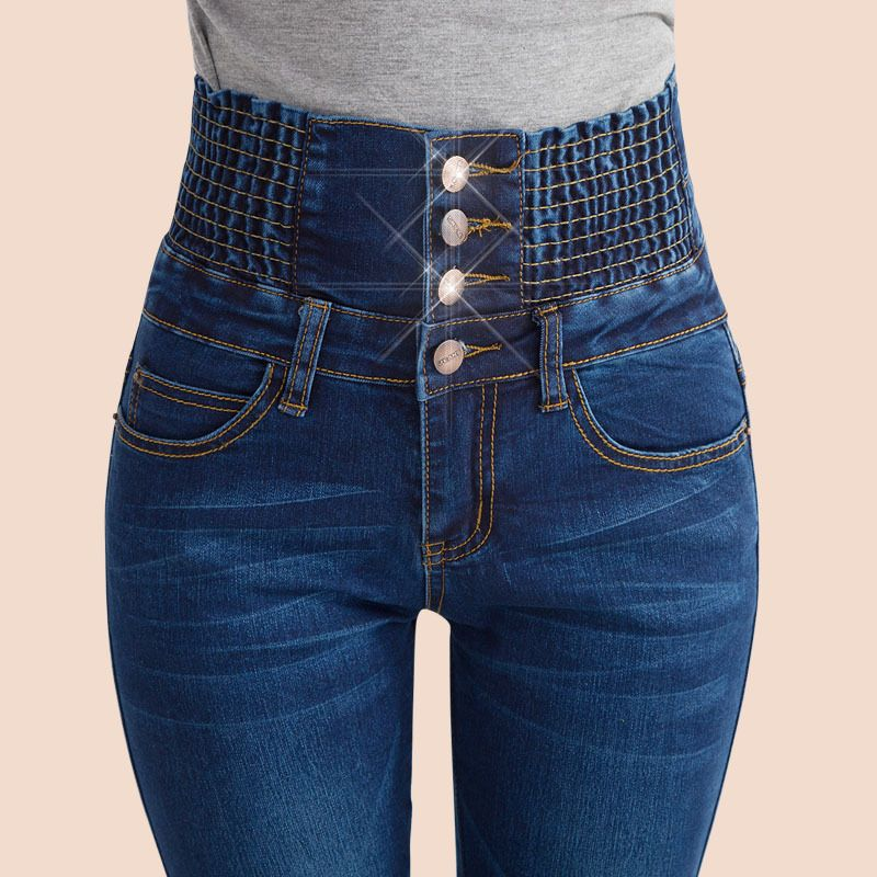 Cheap Jean Jean Buy Quality Jeans Angel Directly From China Jeans Bulk Suppliers Fall New Snow Trousers Women High Waisted Long Skinny Jeans Denim Fashion