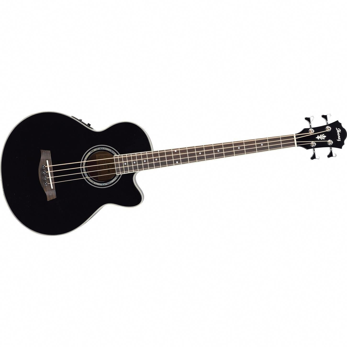 Ibanez Aeb10e Acoustic Electric Bass Guitar With Onboard Tuner Acoustic Electric Acoustic Bass Electric Bass