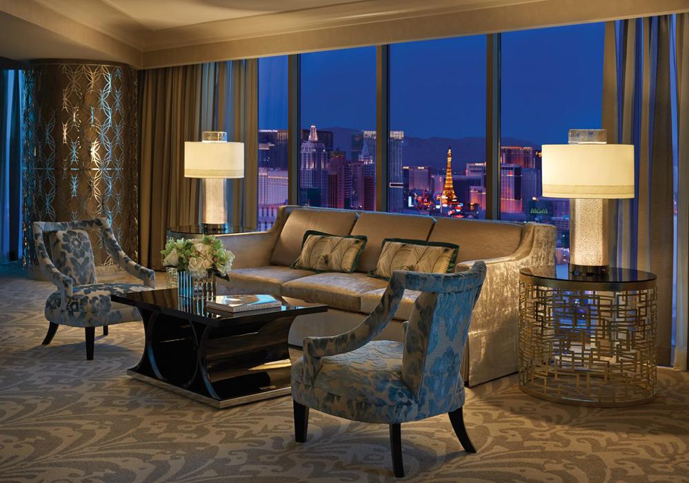Four Seasons Las Vegas La suite présidentiel avec vue