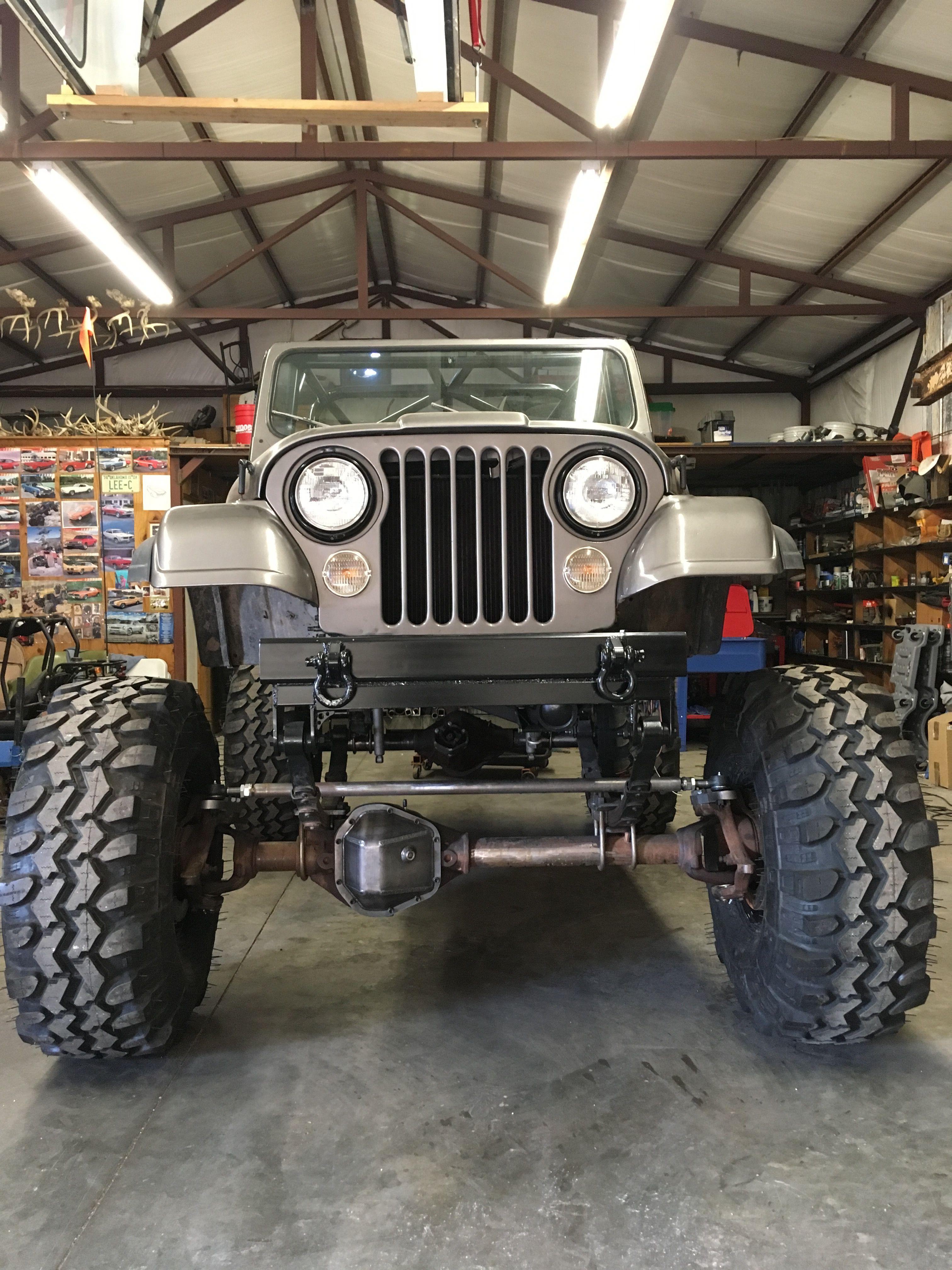 Cj 7 On 1 Tons And 40 Jeep Cj6 Jeep Cj Jeep Yj