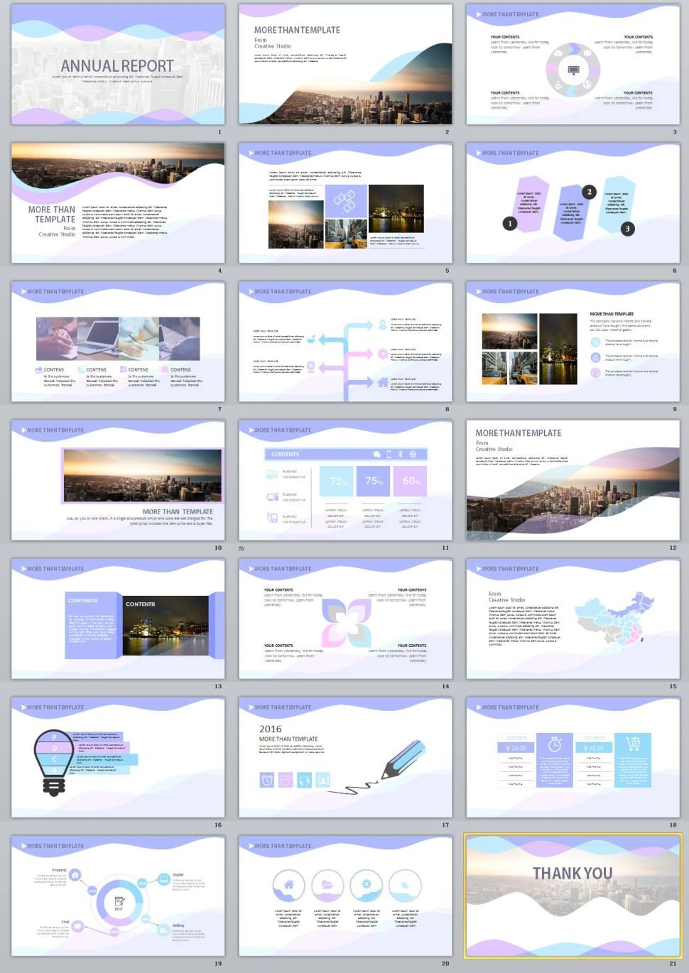 21 multicolor annual report powerpoint templates annual reports 21 multicolor annual report powerpoint templates powerpoint templates and keynote templates toneelgroepblik Image collections