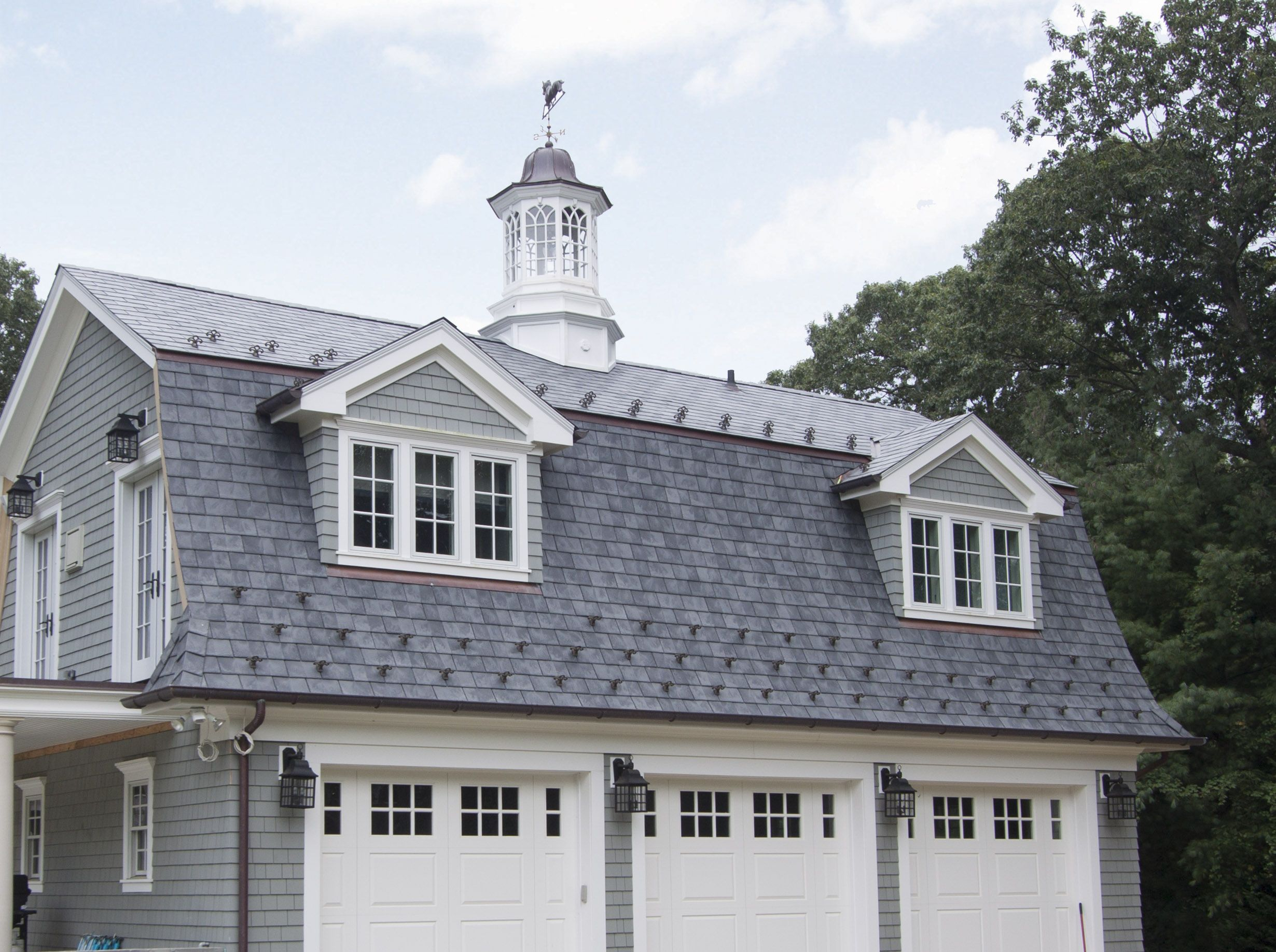 Synthetic Slate Plastic Roofing Mansard Roof Roofing Systems Roofing