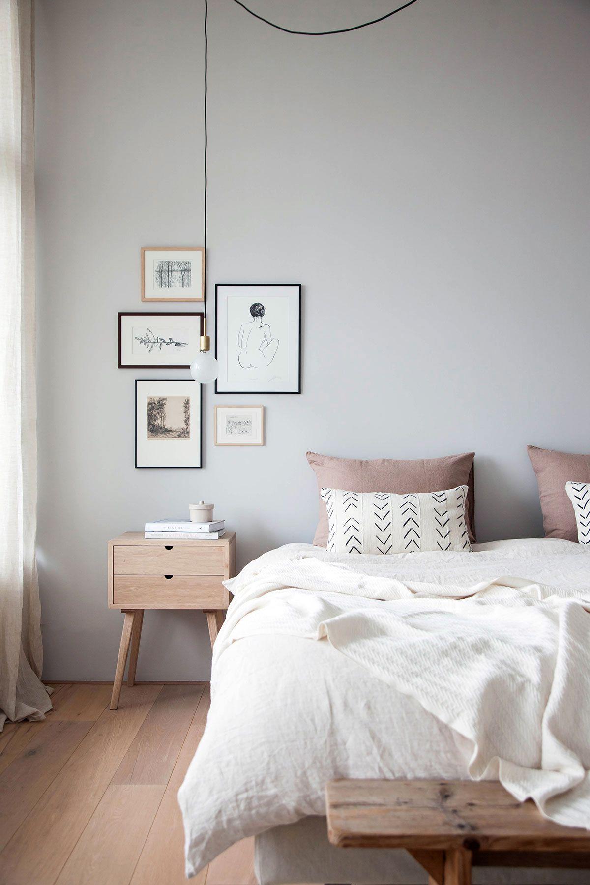 Parete Grigia Camera Da Letto la delicatezza dei toni neutri | idee per la stanza da letto
