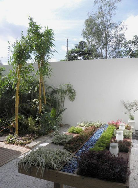 Hochbeet modern Terrasse und Garten Pinterest Hochbeet - deko garten modern