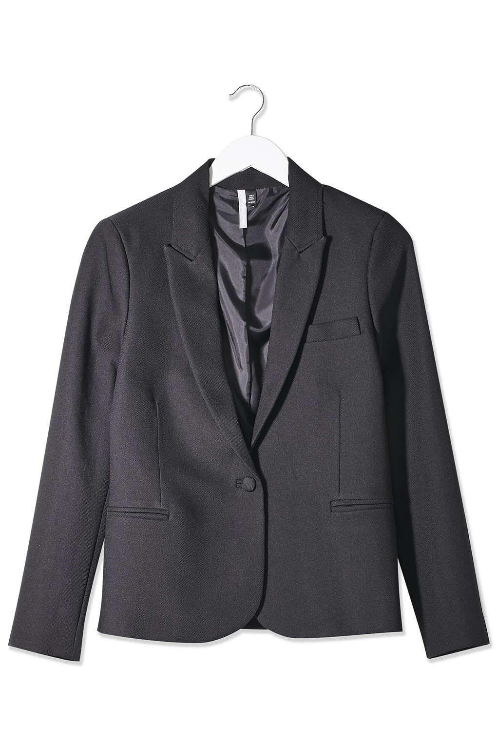 Textured Fitted Blazer by Boutique - Topshop