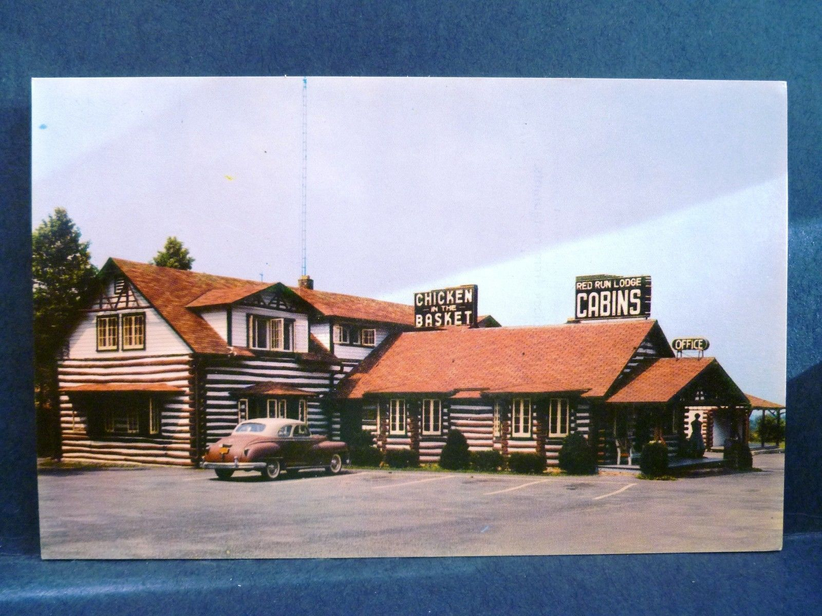 Red Run Lodge And Cabins En In The Basket Waynesboro Pa 1950s