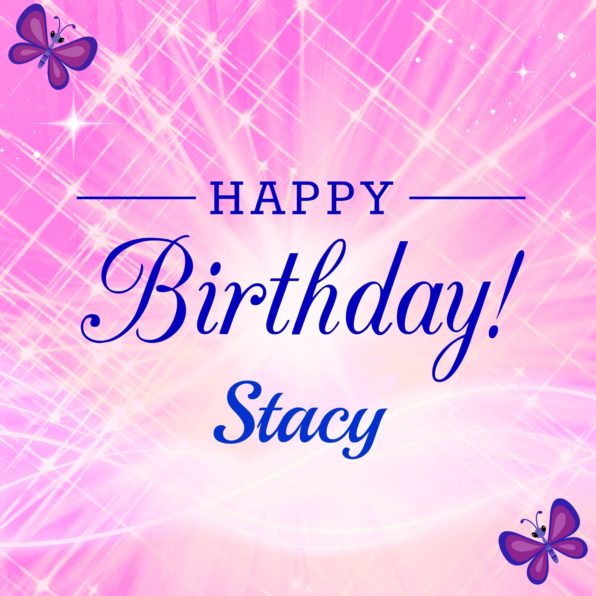Happy Birthday Stacy
