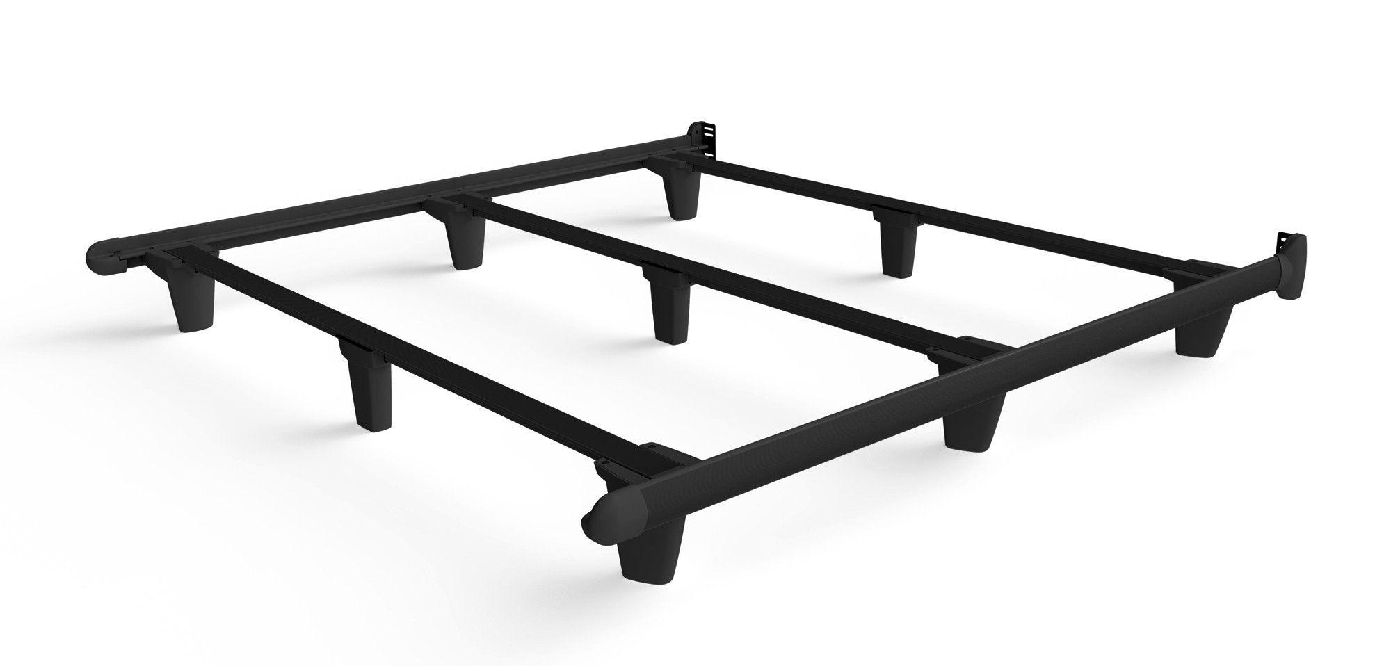 Embrace Bed Frame - Rail Steel Bed Frame - Sovn European Sleep ...